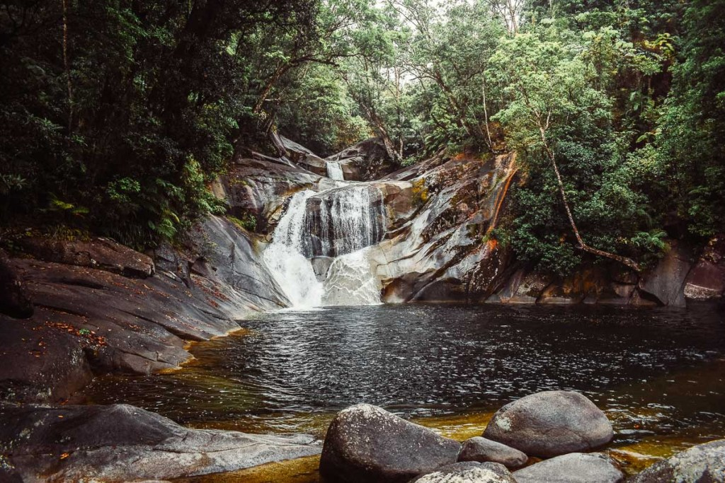 Cairns to Josephine Falls - Waterfall pool