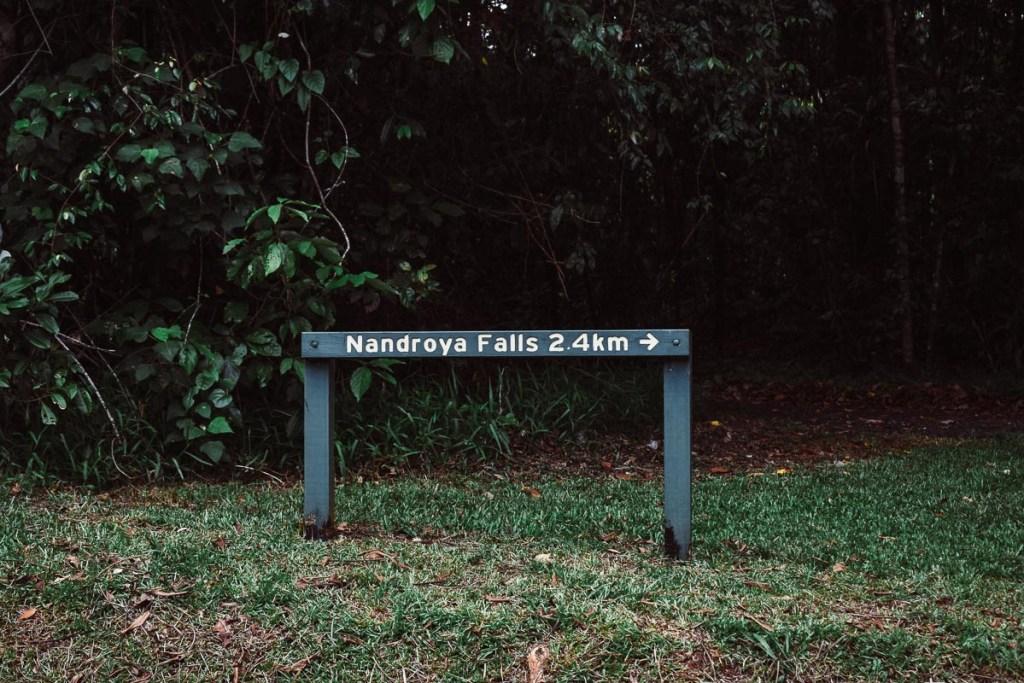 Nandroya Falls 2.4km walk
