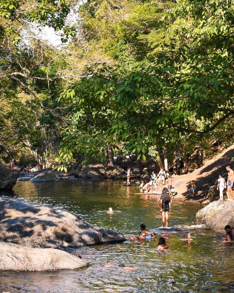 The Crystal Cascades Swimming Hole Cairns locals