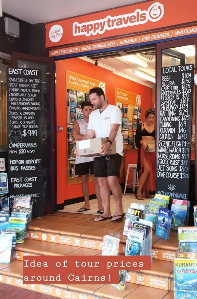 Cairns tours prices