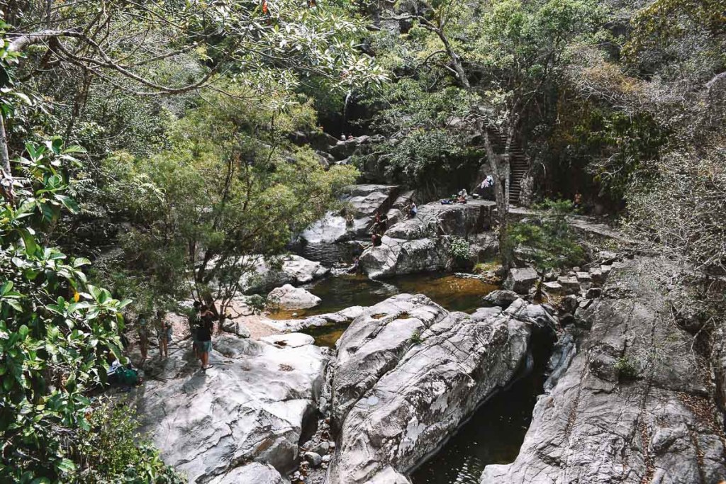 Little Crystal Creek swimming hole