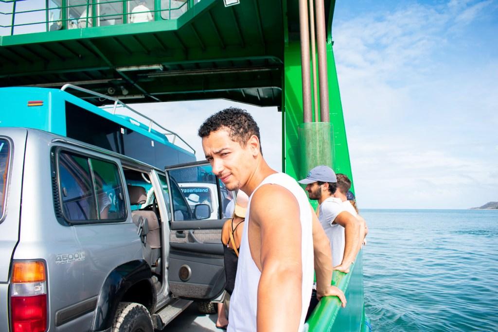 Ferry to Fraser Island