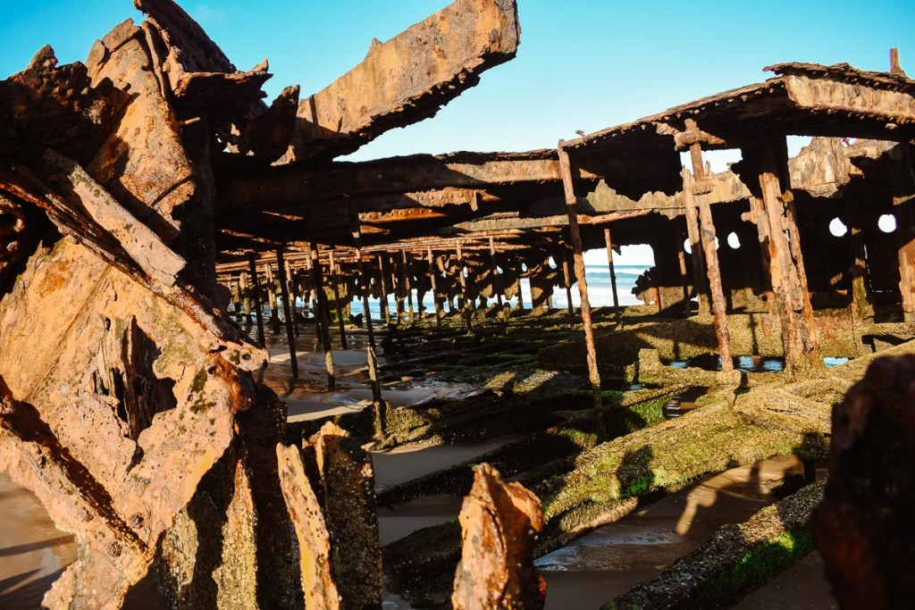The Fraser Island SS Maheno shipwreck story