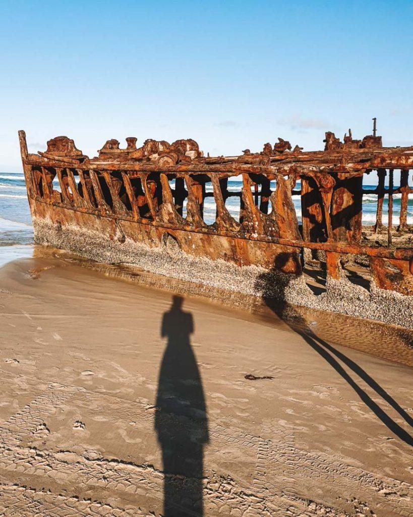 ss maheno shipwreck on fraser island