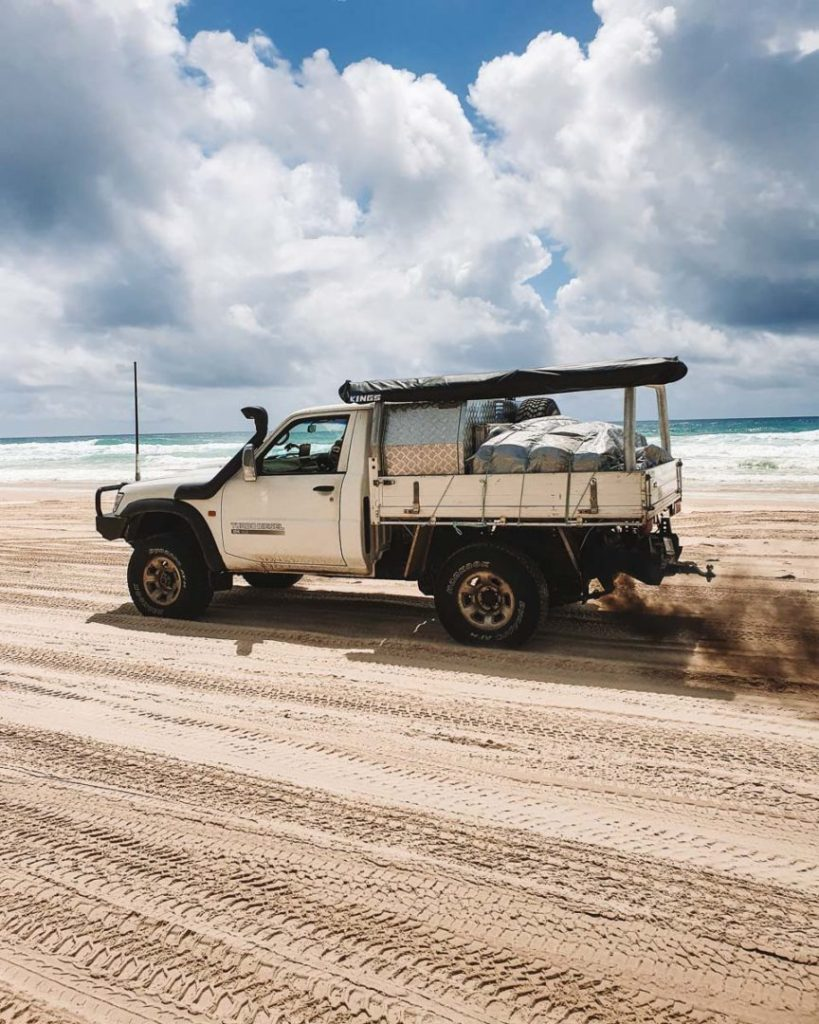 4W drive fraser island tours from hervey bay