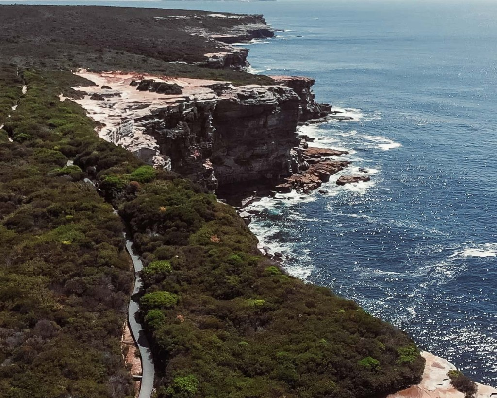 scenic coastal walk royal national park