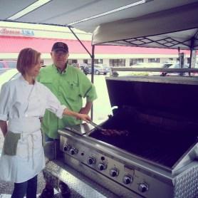 Adreienne healthy grilling
