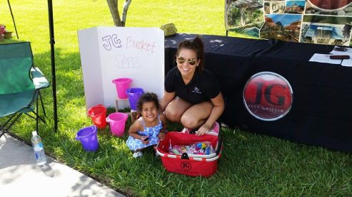 JG at Carrollwood Village kids Fest
