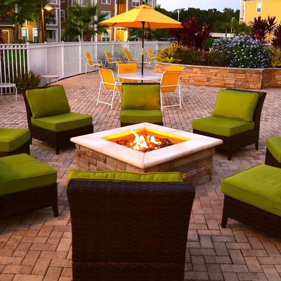 Fire pits and fire bowls add instant ambiance and warmth to your outdoor living area.