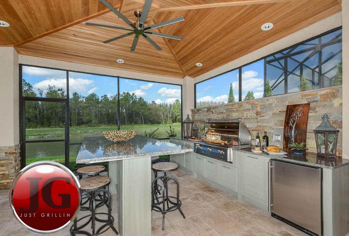 Outdoor Kitchen Design Installation Just Grillin Tampa Fl
