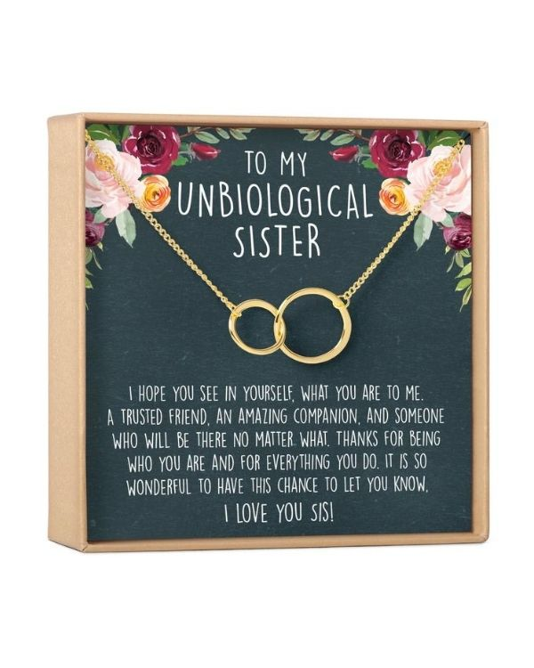 unbiological sisters necklace