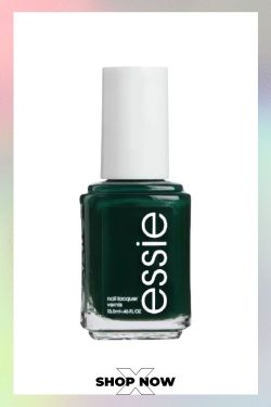 forest green nail color