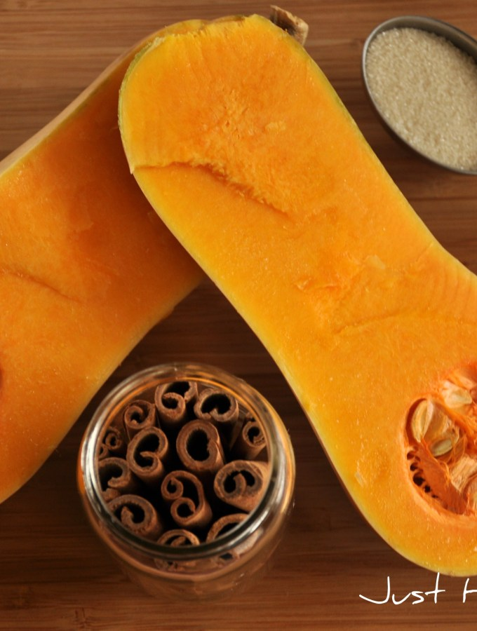 Roasted Butternut Squash : The Holiday Buffet