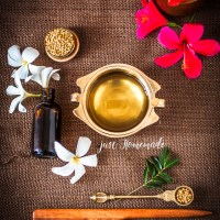 Homemade Herbal Hair Oil for dandruff and hair fall control