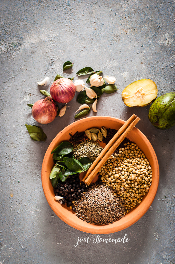 Spices for Srilankan Roasted Curry Powder