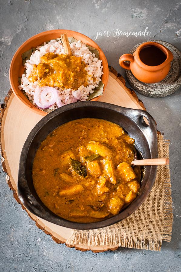 Srilankan Ambarella Ambulla Curry | Roasted Curry Powder