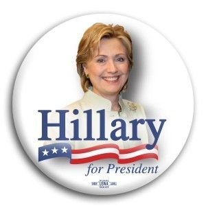 Hillary Clinton Button