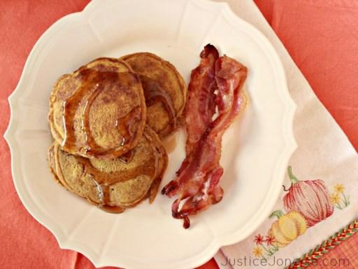 Make pumpkin pancakes