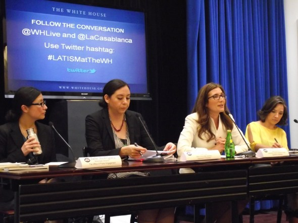 Latina Bloggers Visit the White House