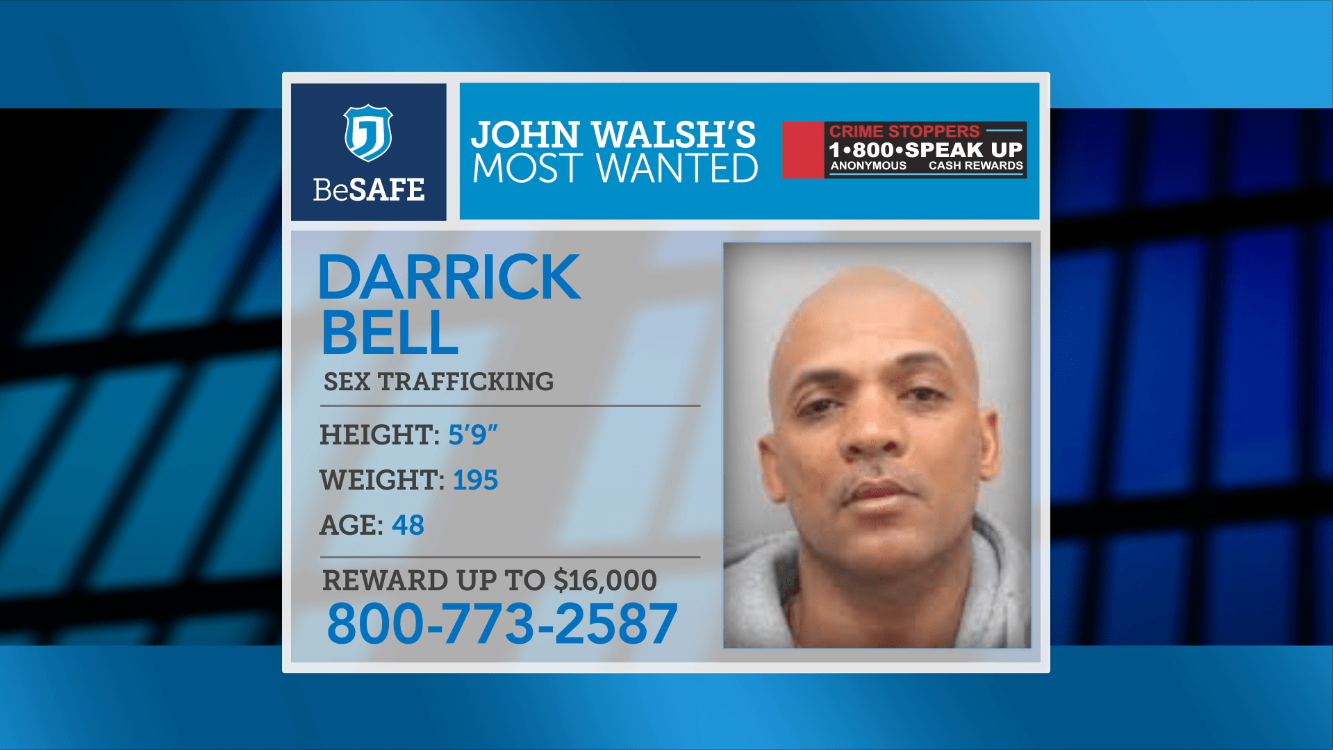 Darrick Bell Wanted Justice Network