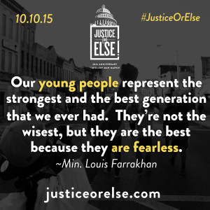 Justice Or Else - Our Youth