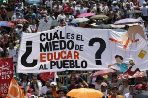 Protesta estudiantil