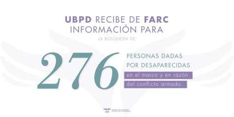 FARC desaparecidos