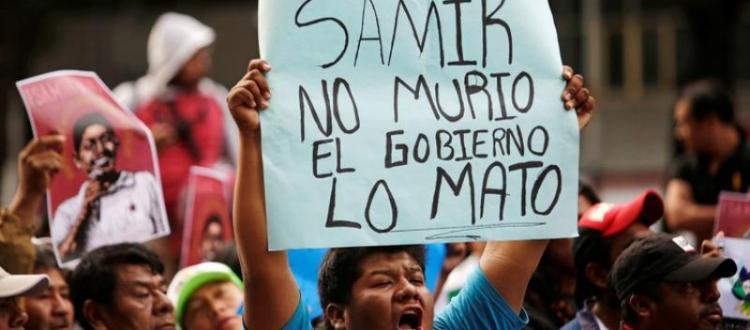 Informe México Defensores DDHH