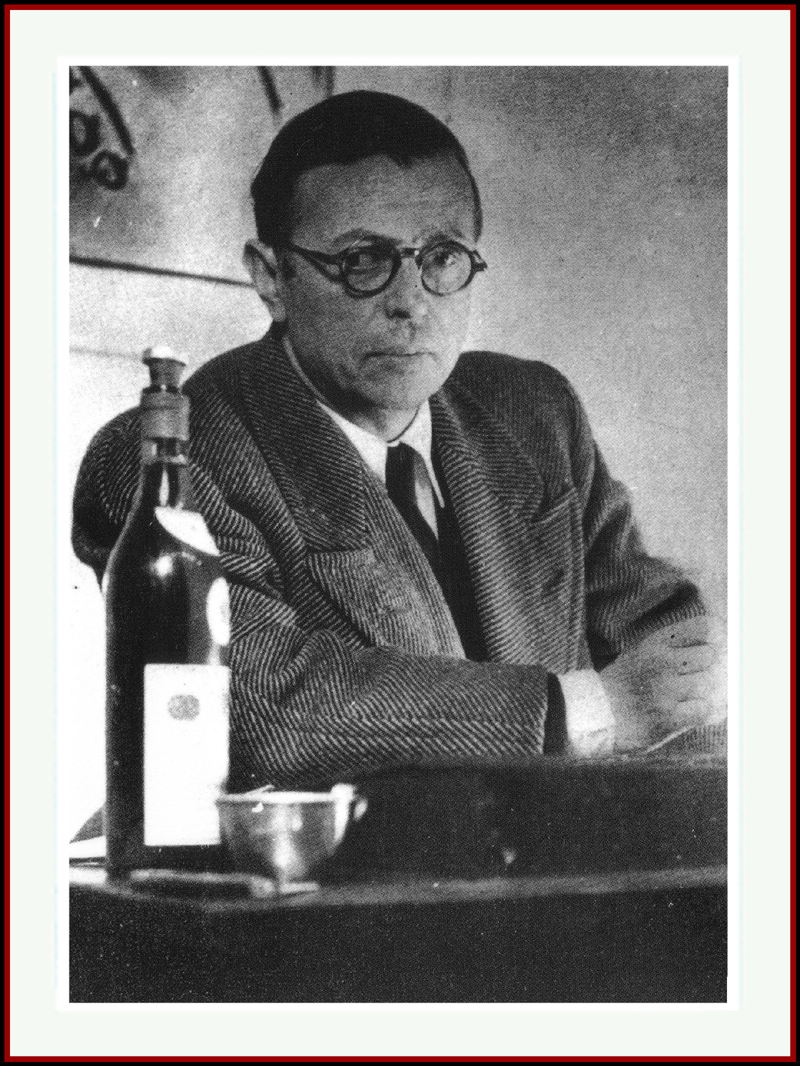 Image result for jean paul sartre alcohol