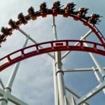 Roller coaster in Dream World Langsit Bangkok