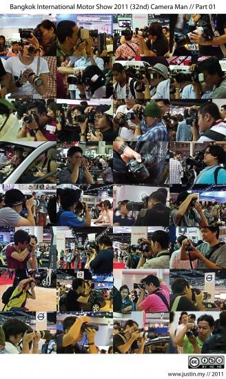 Bangkok International Motor Show 2011 Camera Man 01