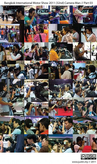Bangkok International Motor Show 2011 Camera Man 03