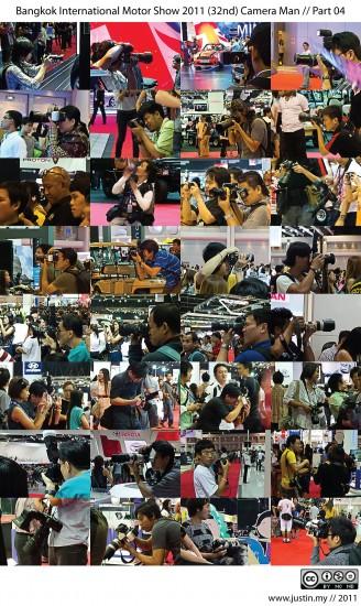 Bangkok International Motor Show 2011 Camera Man 04