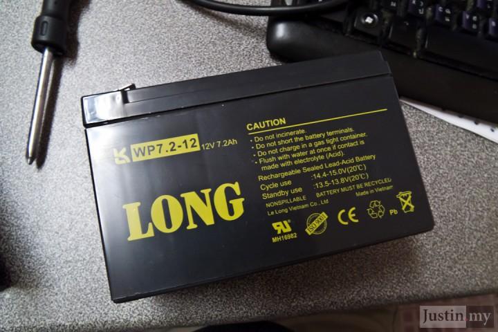 Repairing UPS 15