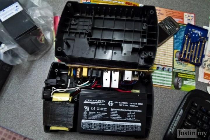 Repairing UPS 4