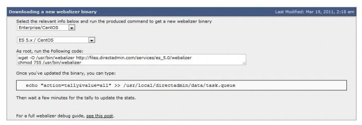 Webalizer Step01