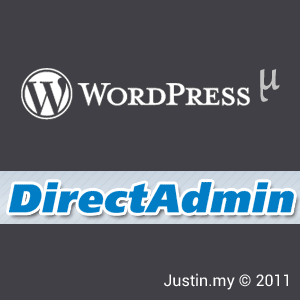 wordpress mu directadmin