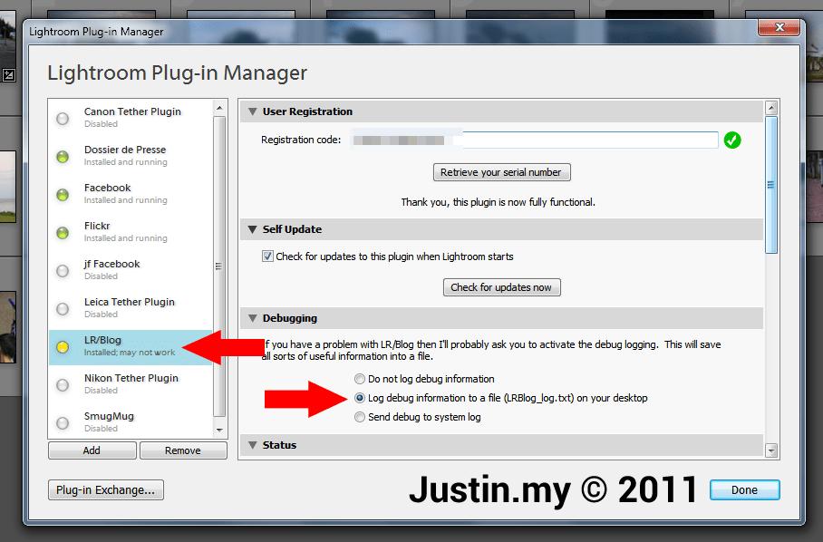 Lightroom Plugin Manager