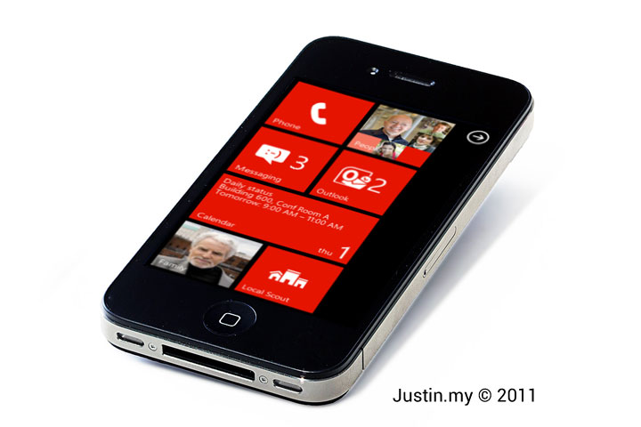 Windows Mobile Phone in iPhone