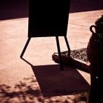 Shadow of Signboard