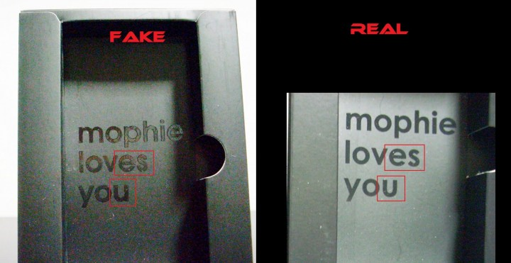 Fake Mophie Juice Pack Plus for iPhone 4 4S in the Market 2