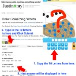 Draw Something Words Finder Completed