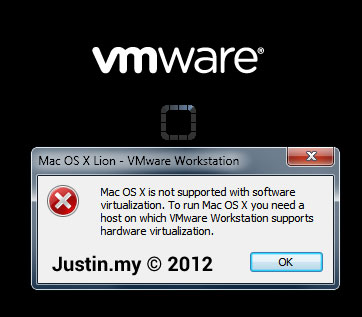 Mac OS X is not supported