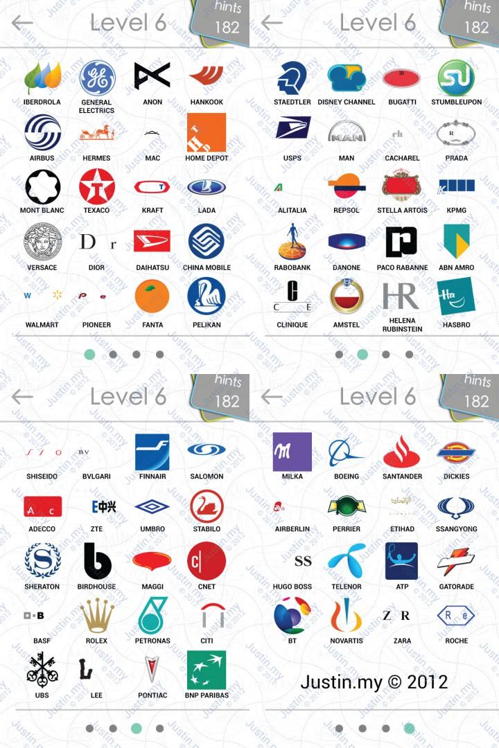 logos quiz answers level 6 v2
