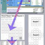 Word Racer Solver Completed
