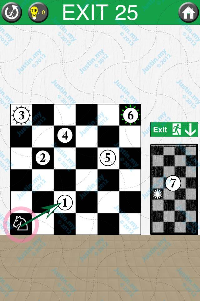 100 Exits Level 25