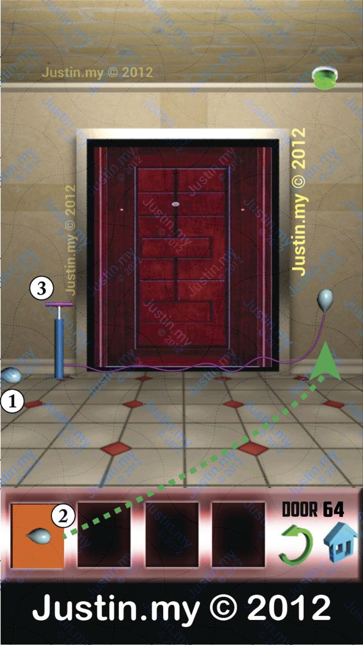 100 Doors X Level 64