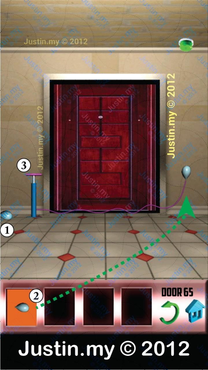 100 Doors Level 65
