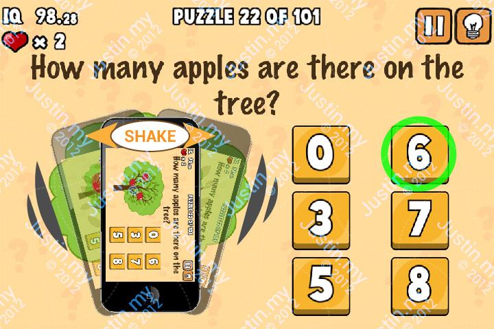 Whats My IQ Cheats Level 22
