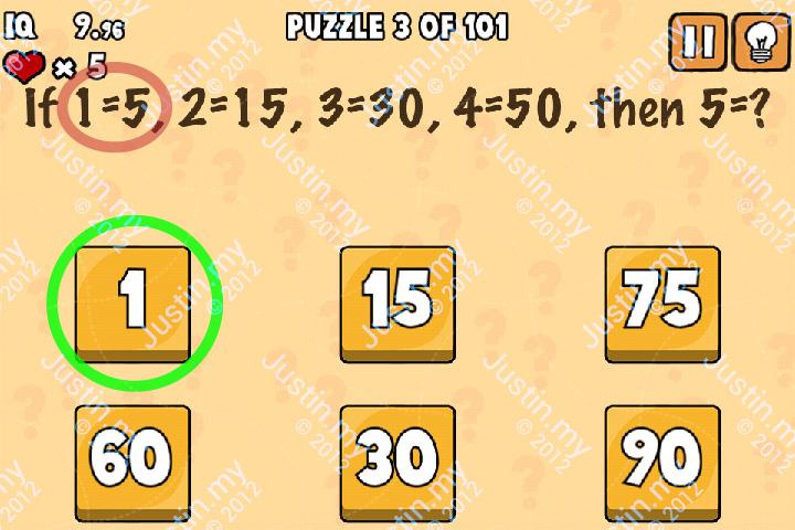 Whats My IQ Cheats Level 3